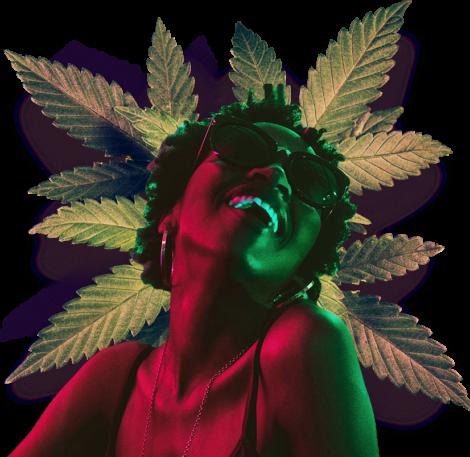 medical marijuana girl